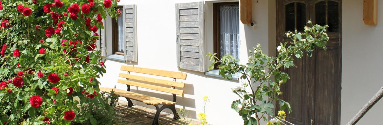 Wohnen im 1825 erbauten Bauernhaus